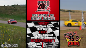Sandhills Open Road Challenge Events Continue - Shoot Out Cut Short