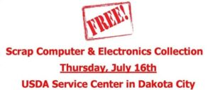 Dakota City To Offer Electronics Collection Event For Nebraska Residents, Businesses