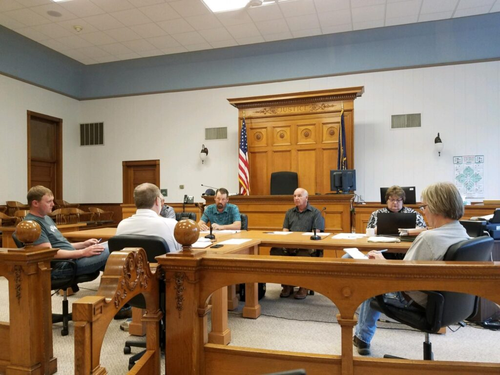 Commissioners Set Budget Public Hearing For September 1, Hear More Updates On Courthouse