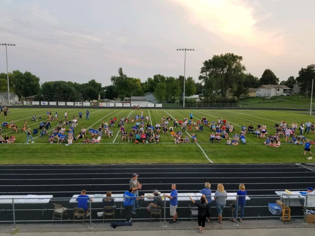 Fall Sports Kickoff Event Highlights New Lights