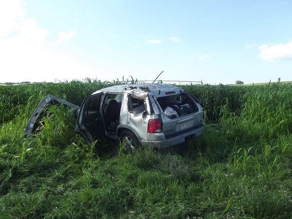 Colorado Man Ejected In Rollover Accident On Sargent Road