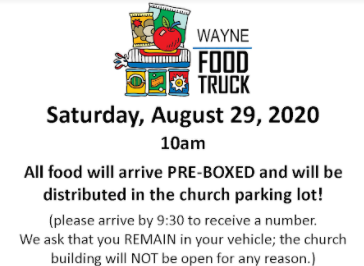 August Food Truck Visiting Journey Christian Church Saturday