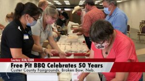 Fifty Years of Free Pit BBQ at the Custer County Fair