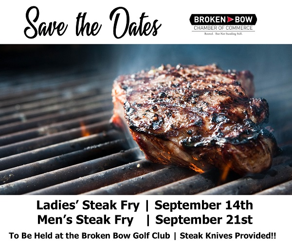 Steak Fry Events Postponed To September 14 And 21