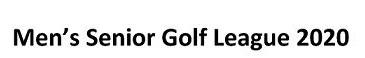 Northeast Nebraska Senior Golf League Changes