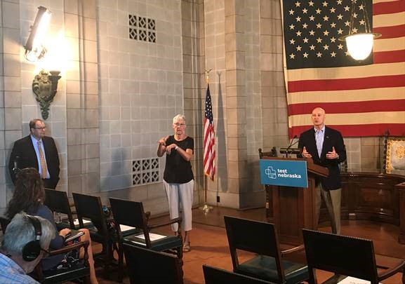 Gov. Ricketts and NDE Commissioner Blomstedt Discuss Start of New School Year