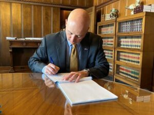 Gov. Ricketts Signs Budget Adjustments Including Flood Relief, Workforce Scholarships