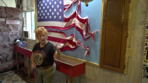 Nebraska Bigfoot Museum says torn, braided flag provides new evidence of Bigfoot