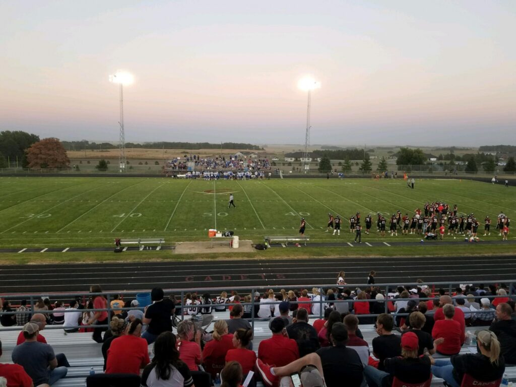 Korth Crosses Goal Line Four Times, Wayne High Secures Second Road Win
