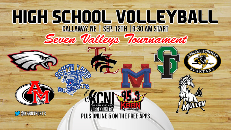Central Nebraska's Sports Source to Present Live Coverage of 7 Valleys Volleyball Tournament
