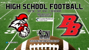 Football Friday - Broken Bow Travels to Face Ord on KCNI
