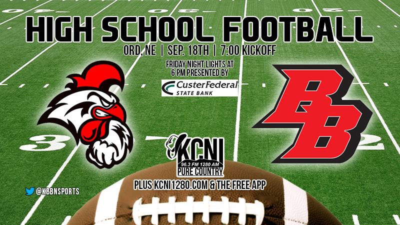 Football Friday – Broken Bow Travels to Face Ord on KCNI