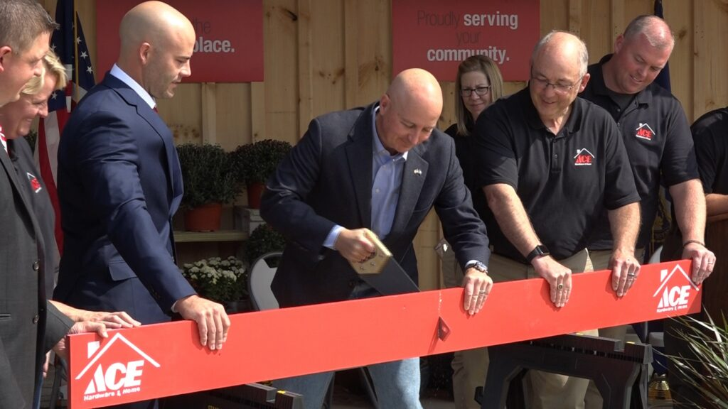 Wayne Ace Hardware & Home Holds 'Board' Cutting During Grand Opening Weekend