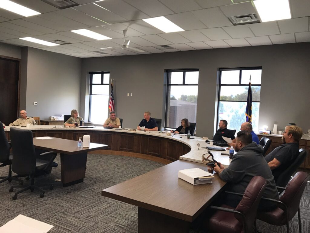 County Supervisors Vacate Roads, Discuss Commercial Valuations