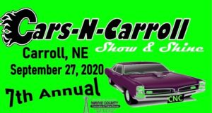 Seventh Annual Cars-N-Carroll Show & Shine To Be Featured On Fourth Sunday In September