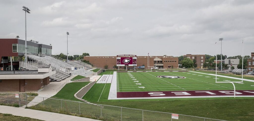 Chadron State College Schedules Five Football Games Against RMAC Opponents