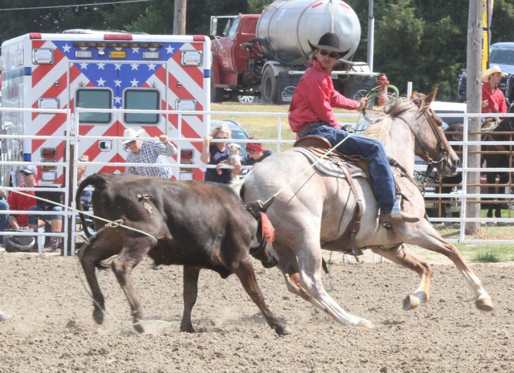Nebraska High School Rodeo Contestants Compete in Broken Bow