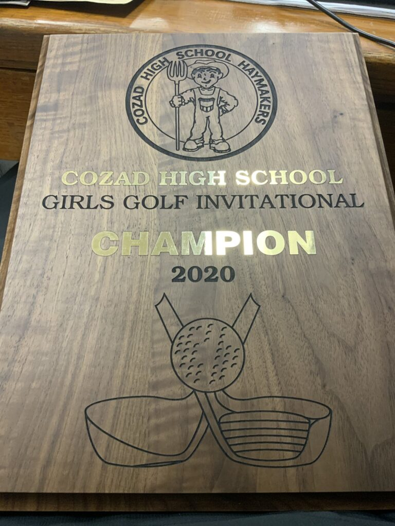 Broken Bow Girls Golf Wins Cozad Invite