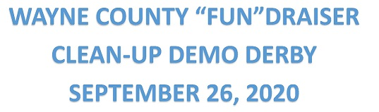 Proceeds From Wayne County 'Clean-Up' Demo Derby Going Towards 4-H Building Fund