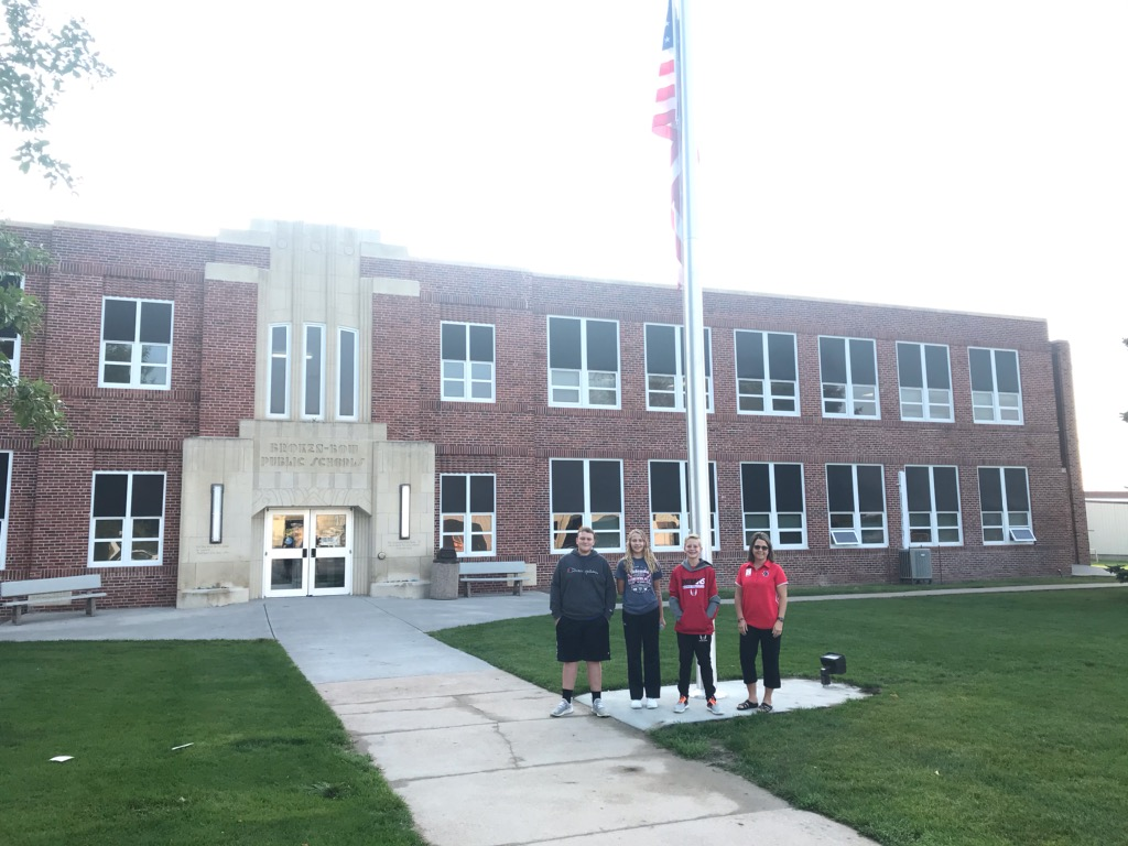 Broken Bow Students Work to Bring Flagpole to Middle School