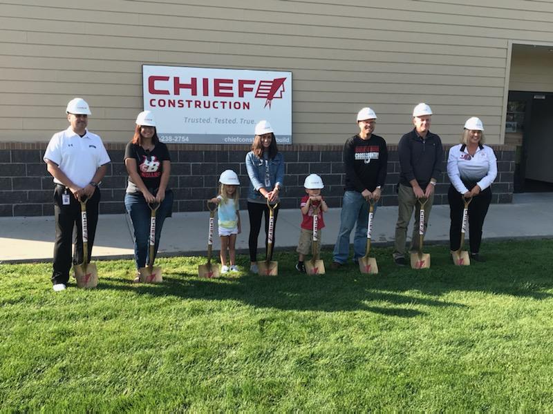 Broken Bow Public Schools & Chief Construction Celebrate Preschool Groundbreaking