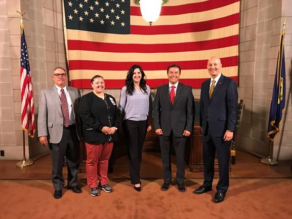 Governor's Wellness Award Winners Recognized During Press Briefing