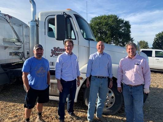 Smith Participates in Western Nebraska Ag Tour with Governor Ricketts and Amb. Gregg Doud