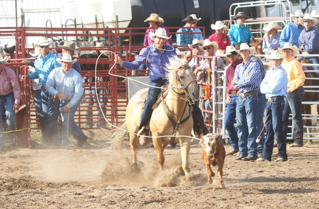 Area Cowboys and Cowgirls Give Strong Performances at Nuckolls County High School Rodeo