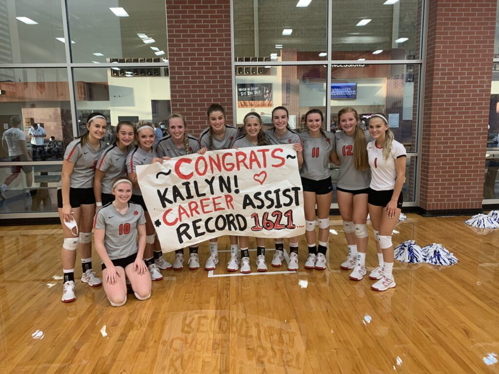 Volleyball Scores 9/24 – Kailyn Scott Sets Broken Bow School Record for Career Assists