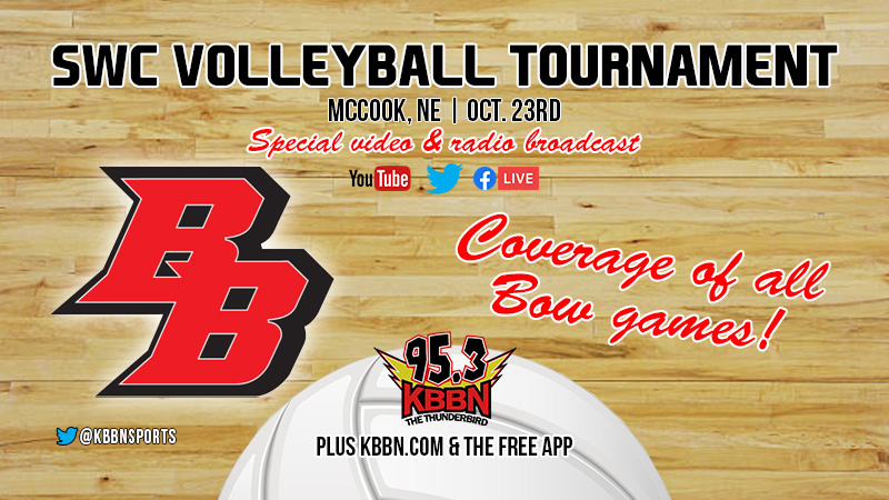 SWC Volleyball Tournament Today – Broken Bow Matches on KBBN and Live Streamed
