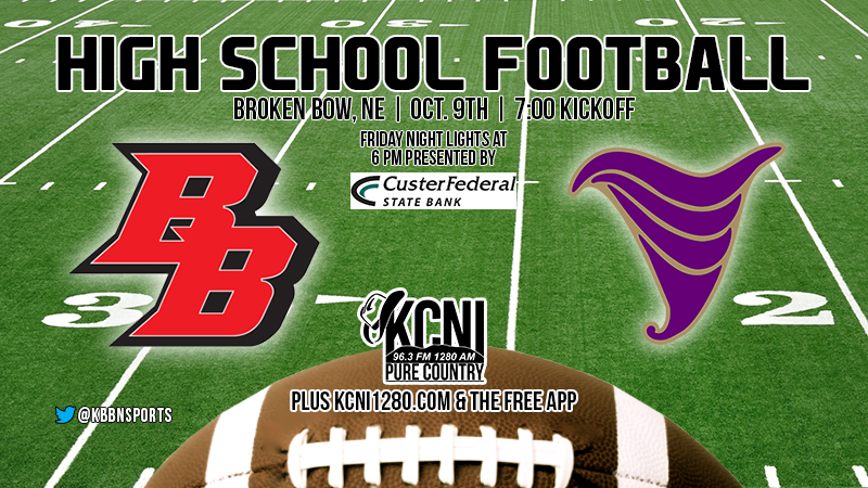 Football Friday – Broken Bow Hosts Holdrege for Homecoming