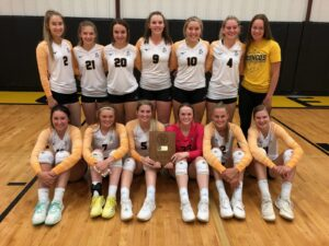 Mullen Wins MNAC Volleyball Tournament