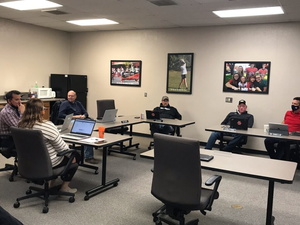 BB School Board Discusses COVID-19–Goal Remains to Keep Kids in School