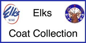 Elks Lodge Annual Coat Drive Starting Oct. 12