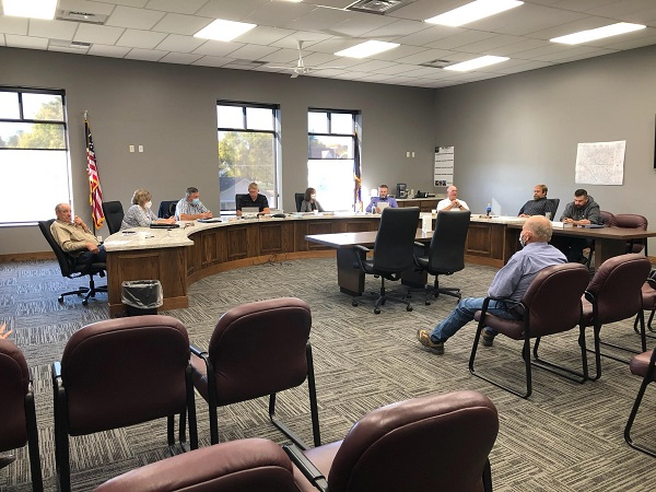 Supervisors Talk Railroad Crossing Improvement; County Government Day Canceled