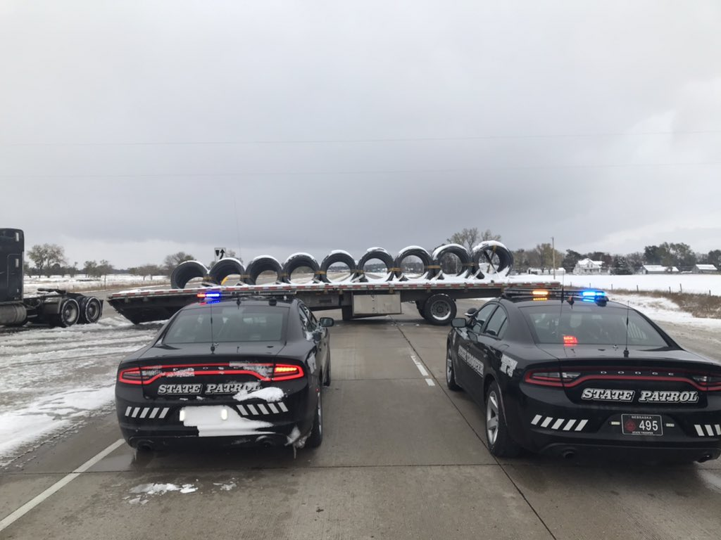 Nebraska State Patrol Assists With 170+ Snow-Related Incidents