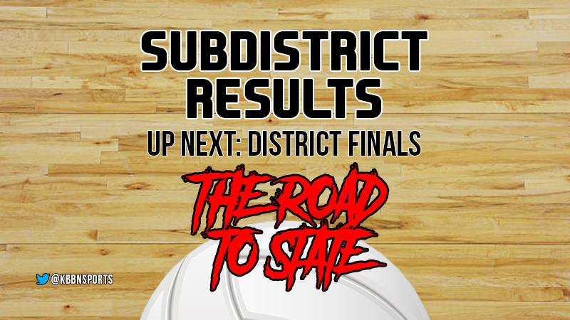 Sub District Volleyball Area Scores : Broken Bow, Anselmo-Merna, South Loup, and Mullen Advance