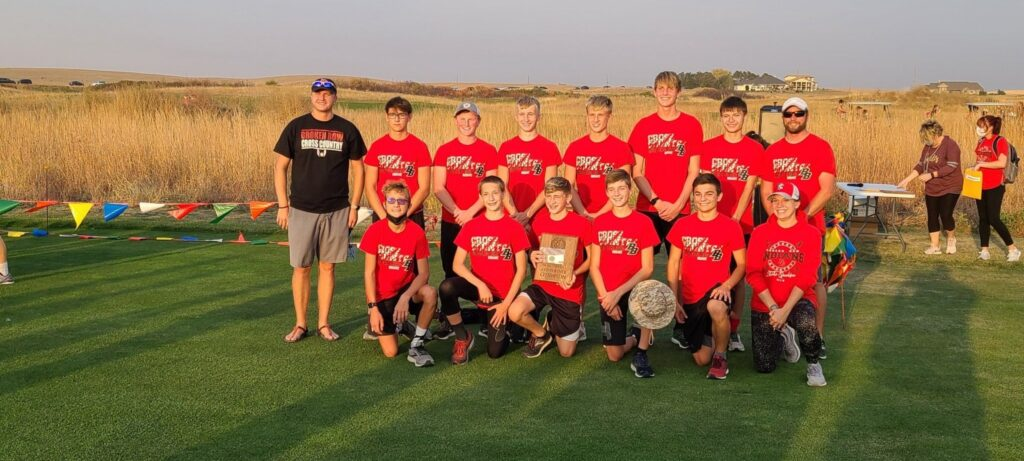 Broken Bow Boys Win First SWC Cross Country Championship Since 1971