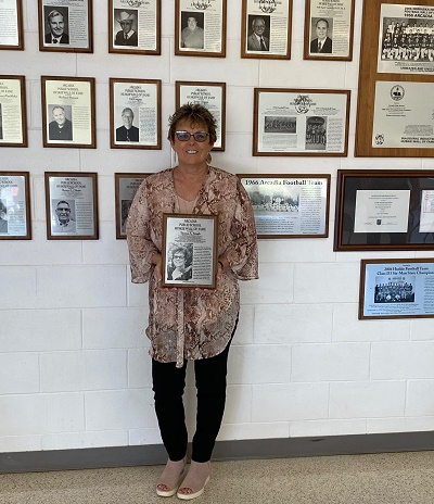 Teresa Staab Inducted into Arcadia Huskie Wall of Fame Earlier this Fall