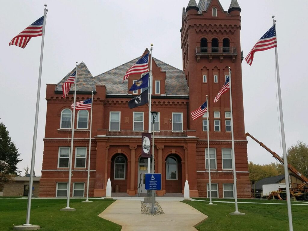 Commissioners Approve Employee Raises, Review Work Yet Complete For Courthouse Restoration Project