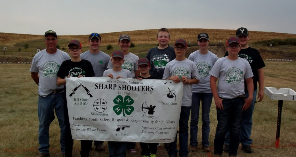 Wayne County Sharp Shooters Place Third In 4-H Division, Individuals Come Home With Top Performances
