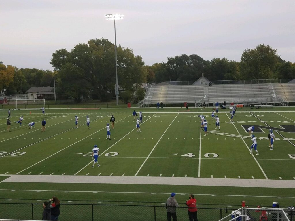 Norfolk Catholic Takes Control In Second Half, Blue Devils Fall To The Knights