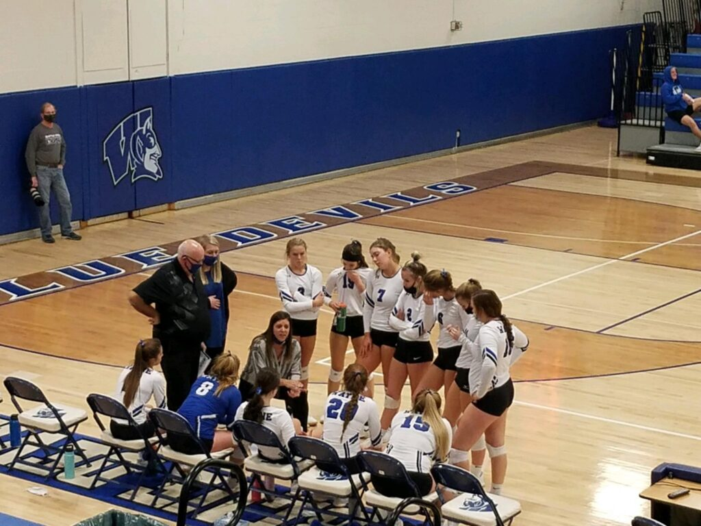 Wayne High Volleyball Advances To District Final, C1-12 Subdistrict Championship Being Played Tonight