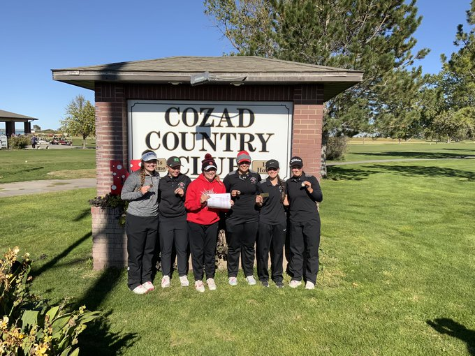 A Record Setting Day for Broken Bow Girls Golf as They Claim First SWC Championship