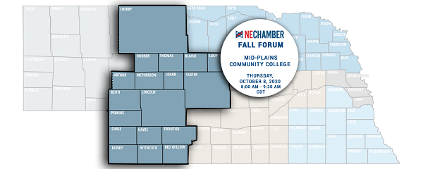 NE Chamber's Virtual Fall Forum Thursday, October 8; Registration Required