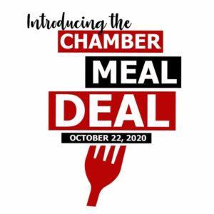 Chamber Meal Deal Pre-Registration Deadline October 21 At Noon! Pick Up On October 22