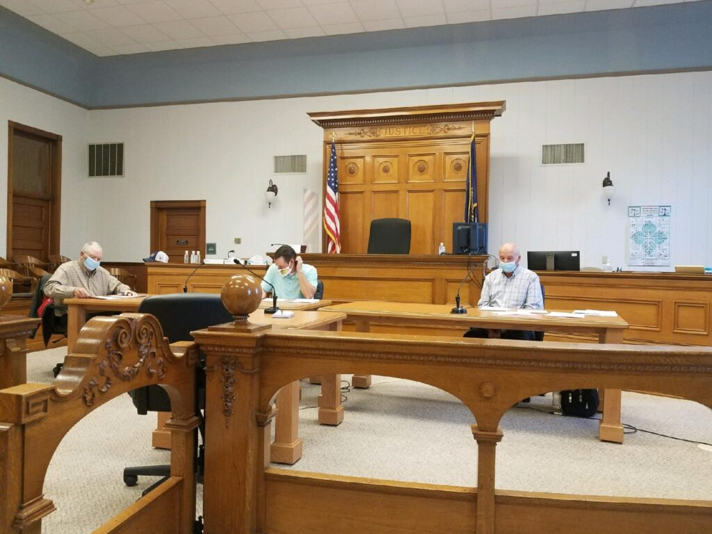 Commissioners Agree To Counter Proposal To Purchase ROW, Courthouse Restoration Project Addressed