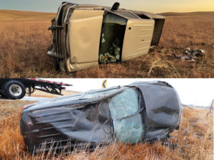 CCSO Busy With Accidents Near Callaway, Blaine/Custer County Line, And Oconto Last Week
