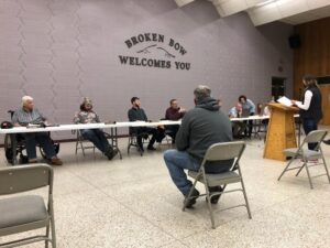 City Council Approves Reserved Parking At Broken Bow High School