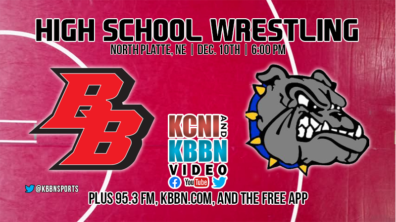 High School Wrestling on KBBN and Live Streamed – Broken Bow vs North Platte Dual